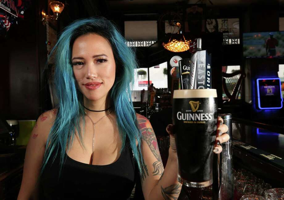 Shay McElroy's Irish Pub bartender Jeanette Do poses for a photograph Tuesday, Nov. 28, 2017, in Houston. ( Godofredo A. Vasquez / Houston Chronicle ) Photo: Godofredo A. Vasquez, Houston Chronicle / Godofredo A. Vasquez