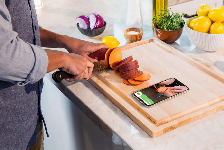 The Innit app includes video instruction for its customizable meals. Photo: Innit. / Innit