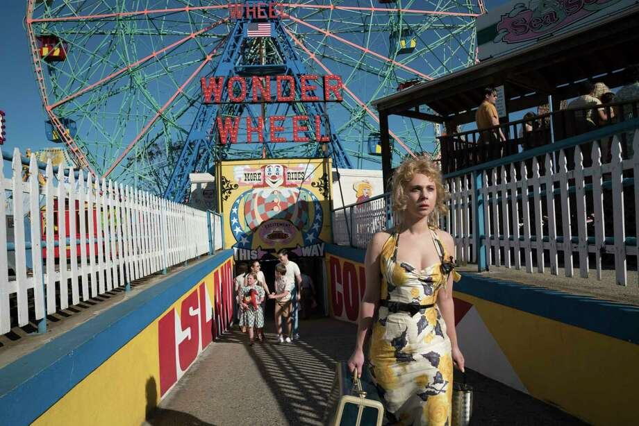 "This image released by Amazon Studios shows Juno Temple in a scene from ""Wonder Wheel."" (Jessica Miglio/Amazon Studios via AP) Photo: Jessica Miglio, HONS / Amazon Studios"