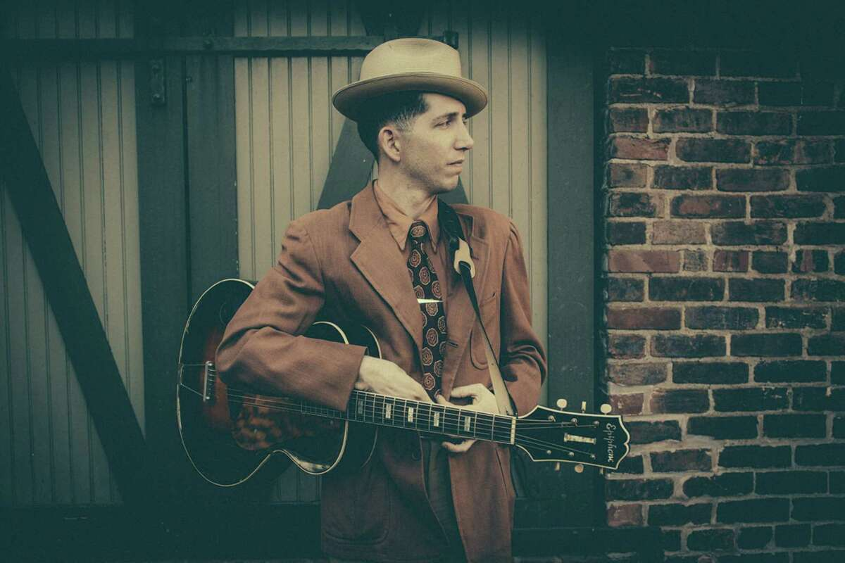 A 'Manic' interpreter Pokey Lafarge is a thoughtful singer-songwriter and mesmerizing performer whose work pulls from old American music forms like hot jazz, early blues, string band music and Western swing. He just released his eighth album,