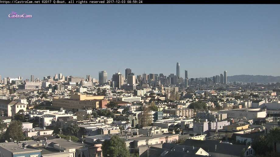 With no rain in sight, San Francisco feels crazy dry. Photo: The Castro Cam