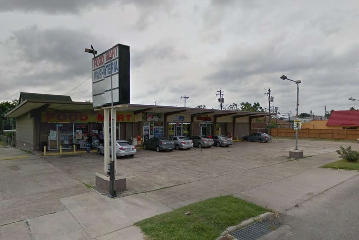 A car with a baby inside was stolen from this laundromat in the 3000 block of Broadway in Galveston on Dec. 4, 2017.