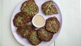 "Syrian Meat and Herb Latkes from ""Jewish Soul Food: From Minsk to Marrakesh"" by Janna Gur."
