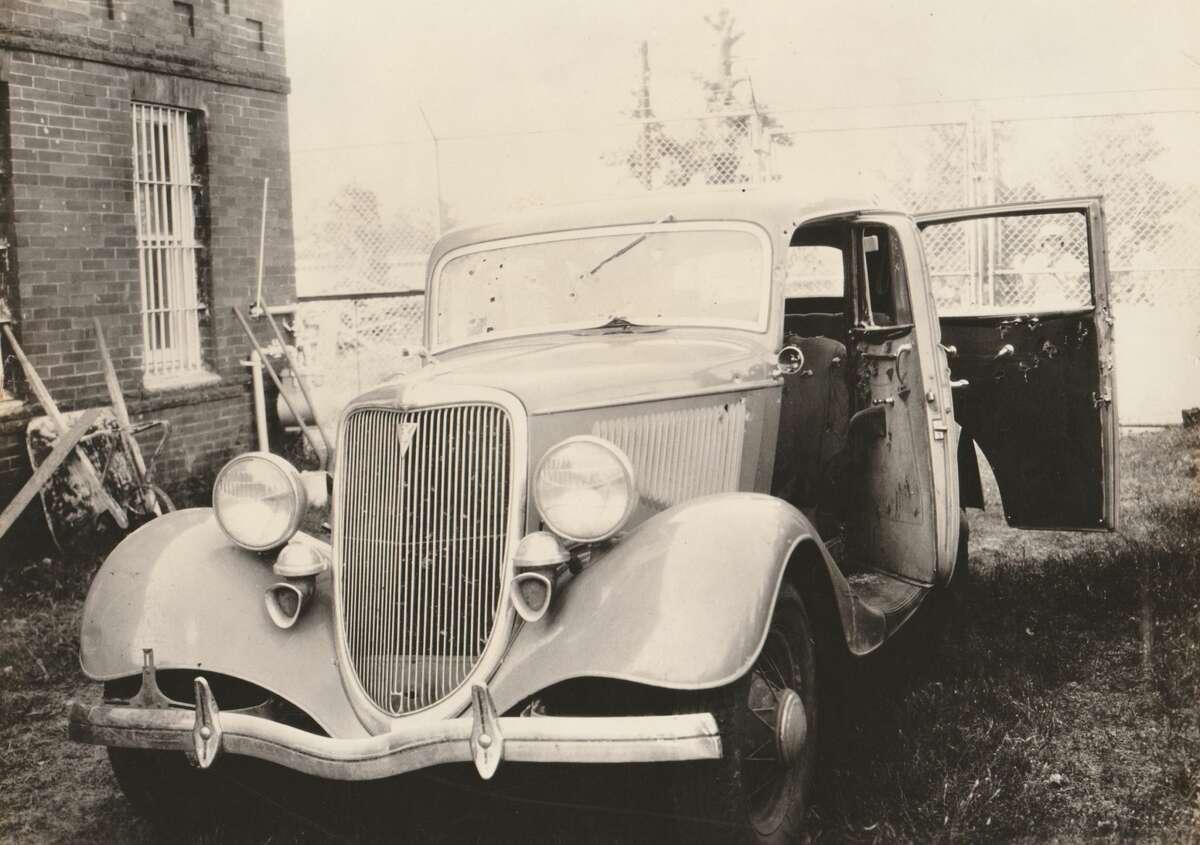 The Automobile of Bonnie & Clyde, 1934, Courtesy PDNB Gallery, Dallas, TX