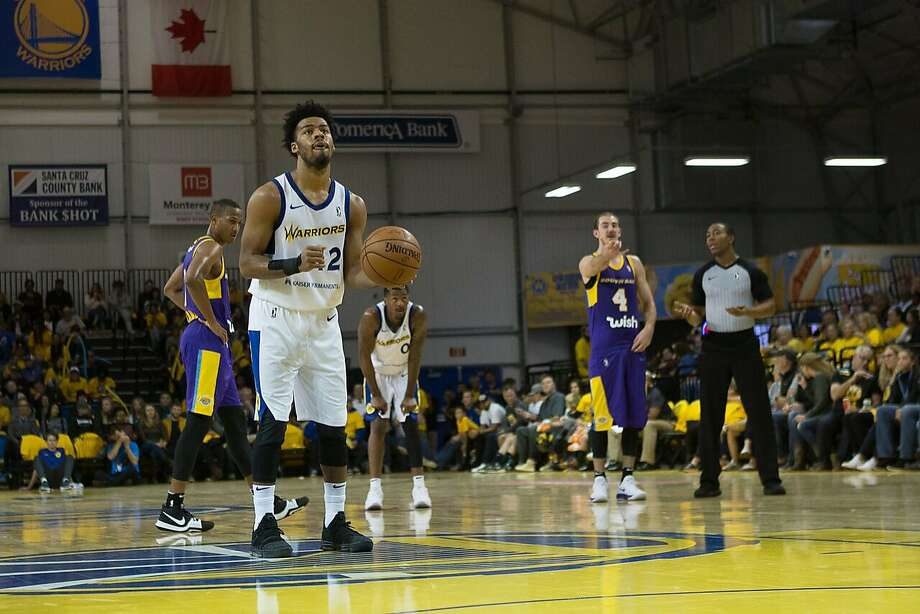 Quinn Cook is averaging 26 points, 7.4 assists and 5.8 rebounds with the G League's Santa Cruz Warriors this season. Photo: Courtesy Of Santa Cruz Warriors