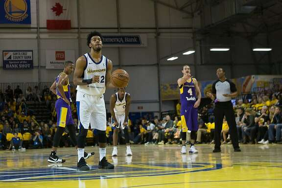 Quinn Cook is averaging 26 points, 7.4 assists and 5.8 rebounds with the G League's Santa Cruz Warriors this season.