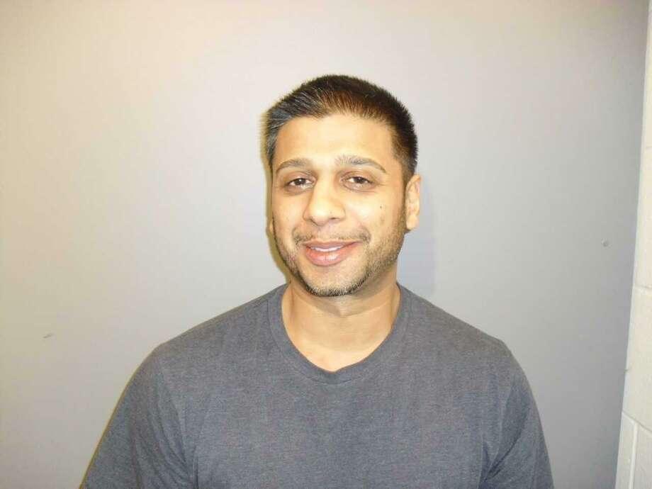 Ashwin Mital, 33, of Wilton Photo: Contributed Photo / Wilton Police Department