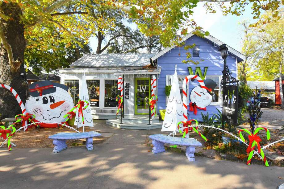 Old Town Spring is inviting the community to spend some time at the 37th annual Home for the Holidays. The festivities started Nov. 11 and will wrap up Dec. 23. Patrons are encouraged to stroll the decorated winding paths and browse the holiday experience provided through entertainment and boutiques. Photo: Tony Gaines/ HCN, Photographer