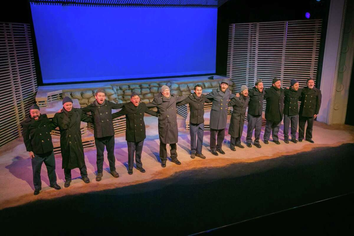 """""""All is Calm: The Christmas Truce of 1914"""": The Public Theater of San Antonio once again teams up with the Marcsmen men's a cappella ensemble for this powerful look at the real-life armistice that took place on the front lines during World War I. Preview 7:30 p.m. Nov. 21. Regular performances 7:30 p.m. Fridays-Saturdays, 2 p.m. Sundays and 7:30 p.m. Thursdays from Nov. 23-Dec. 23, Public Theater of San Antonio, San Pedro at Ashby. $10 to $35 for preview; $20 to $30 for regular performances by calling 210-733-7258 and at thepublicsa.org."""