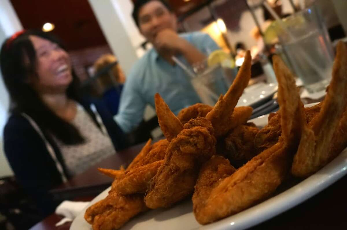 Fried chicken wings at Sandra Dee's Barbeque and Seafood in Sacramento. Celebrity chef Gordon Ramsay gave the 19-year-old restaurant a makeover this weekend for his show '24 Hours To Hell and Back.'