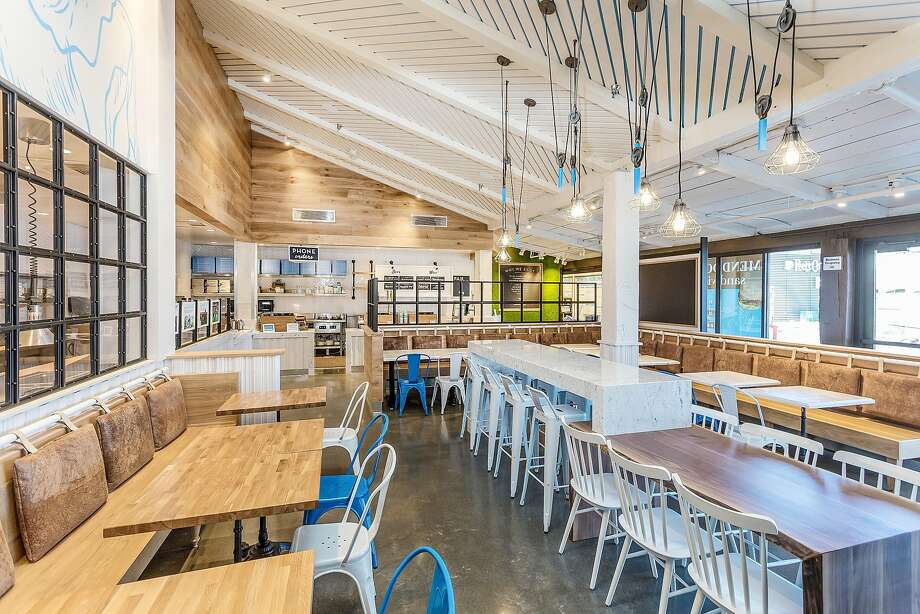 Mendocino Farms Campbell space is located at 1875 South Bascom Ave. This is the L.A. fast-casual chains first location in the Bay Area. There are more locations slated for San Jose and San Francisco's Financial District (465 California St.) Photo: Mendocino Farms