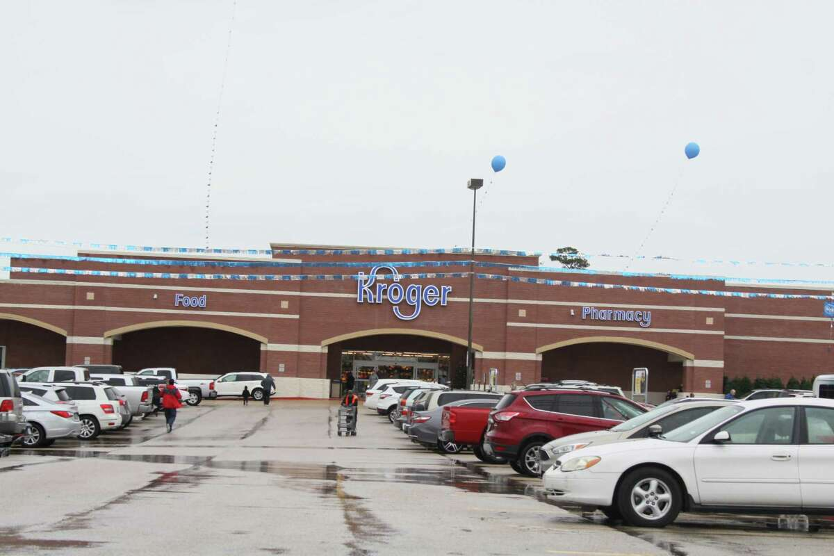 The Kroger at 10010 Cypresswood Dr. in northwest Houston reopened on Wednesday morning after being closed for repairs that lastedthree months due to flood damage from Hurricane Harvey.