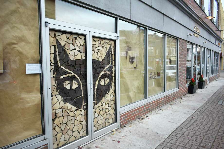 Evarito's, NorwalkOpening 2018The fox logo of Evarito's greets passersby in December 2017 at the corner of Washington Street and North Main Street, in advance of the Mexican restaurant opening in 2018 under the stewardship of SKAL Restaurant Group, which owns Cask Republic around the corner. Read more.  Photo: Alexander Soule / Hearst Connecticut Media / Stamford Advocate