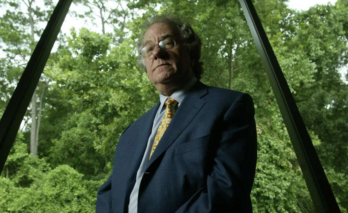 Charles Miller, a Houston businessman and leader in education reform in Texas, died Wednesday. He was photographed in June 2004.