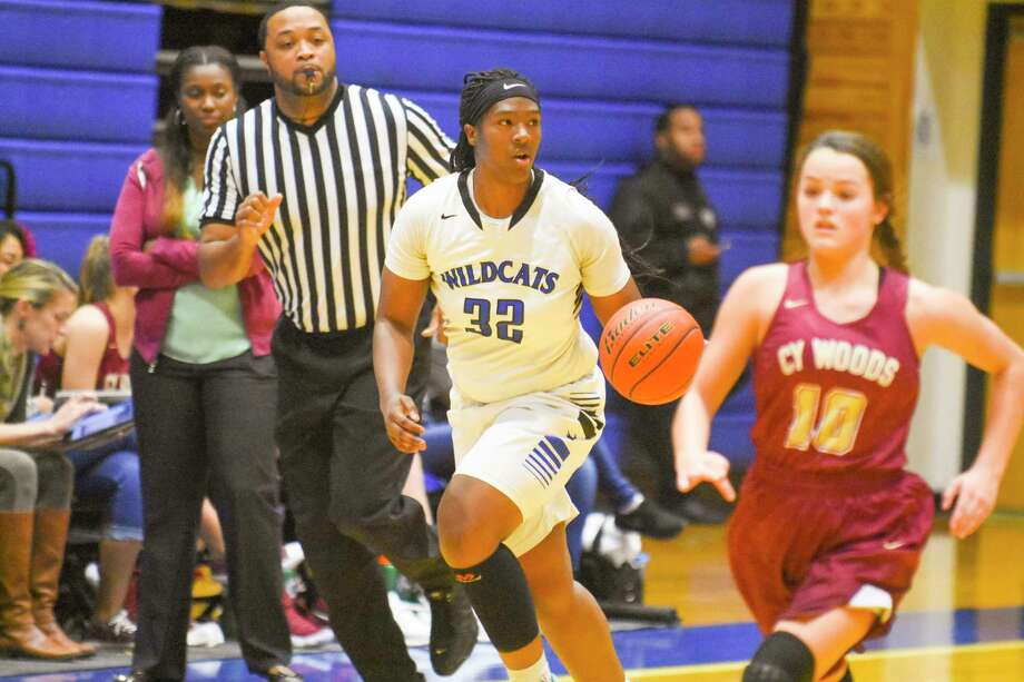 Sierra Dirden scored 17 points as Dekaney went on to beat Cy Woods 60-37 in pre-district play Tuesday afternoon at Dekaney High School. Photo: Tony Gaines/ HCN, Photographer