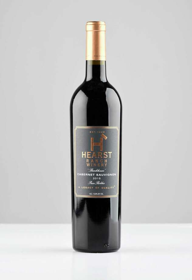 Hearst Ranch Winery cabernet sauvignon, Cali., 2015, on Thursday, Oct. 5, 2017, at the Times Union in Colonie, N.Y. (Will Waldron/Times Union)