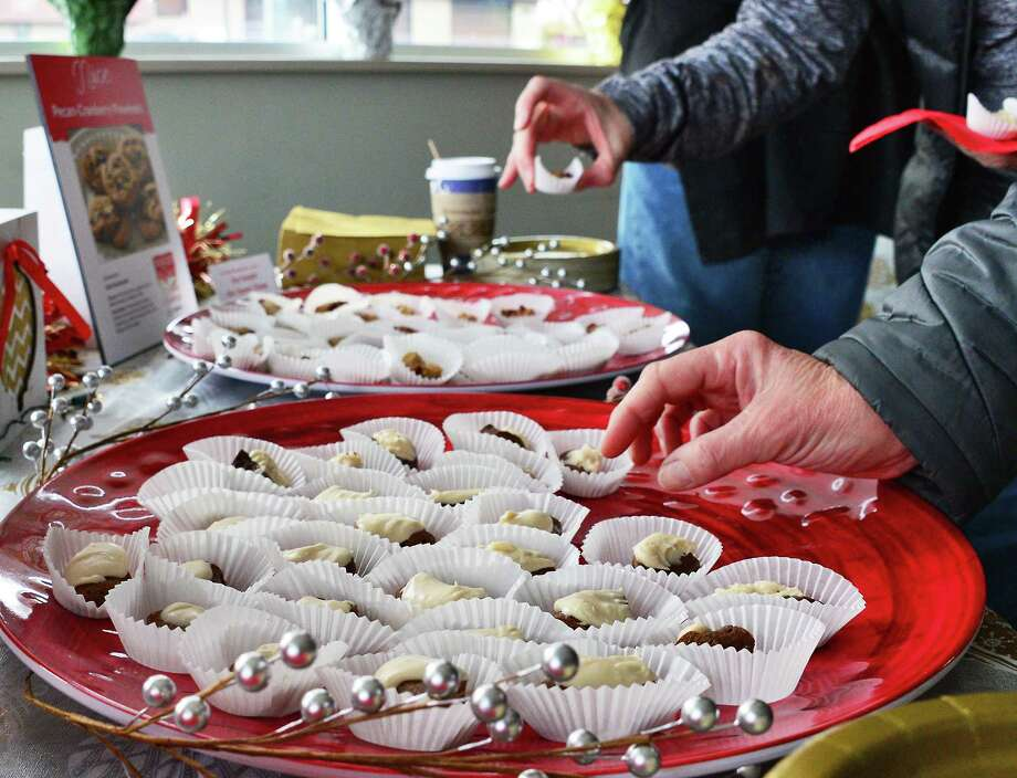 Cookie lovers take the Naughty or Nice Cookie Challenge, presented by the Honest Weight Food Co-op Saturday Dec. 2, 2017 in Albany, NY. Keep clicking for photos of the winners – and their cookies! Photo: John Carl D'Annibale / 20042267A