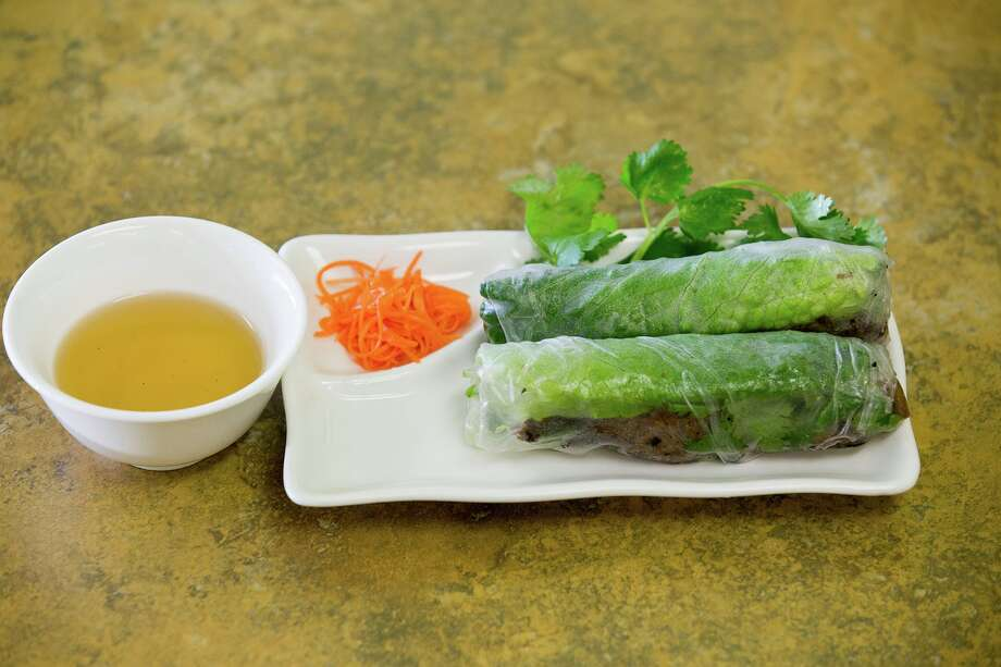Spring rolls at Bun Bo Hue Co Do