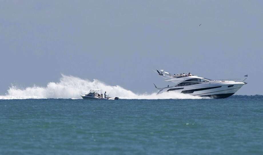 On Dec. 6, 2017, prosecutors unveiled charges against a Florida man who they claim hit up investors in Connecticut and nationally to back a yacht-sharing service, only to spend half the proceeds for his own use. (AP Photo/Wilfredo Lee) Photo: Wilfredo Lee / Associated Press / AP
