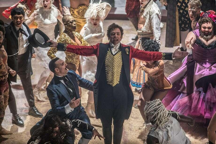 "Hugh Jackman stars as circus co-founder P.T. Barnum in ""The Greatest Showman."" Photo: Niko Tavernise, Twentieth Century Fox"