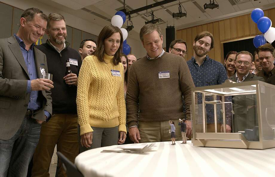 "Matt Damon in ""Downsizing."" Photo: Paramount Pictures"