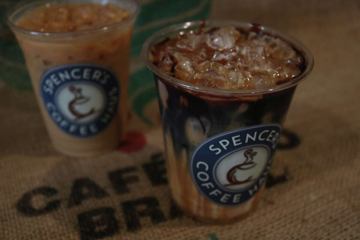Spencer's Coffee Haus celebrated its grand opening and ribbon cutting ceremony on Friday, Dec. 8 in Crosby.