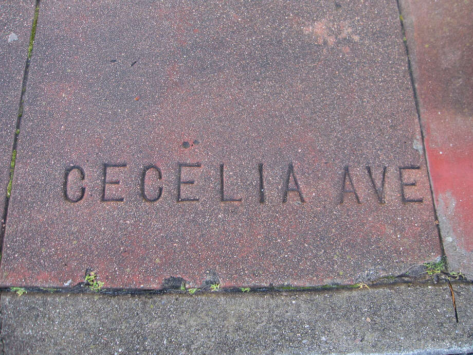 CECELIA — You're breaking my heart. Location: Cecilia Avenue and 16th Avenue Photo: Thomas Rogers/Flickr