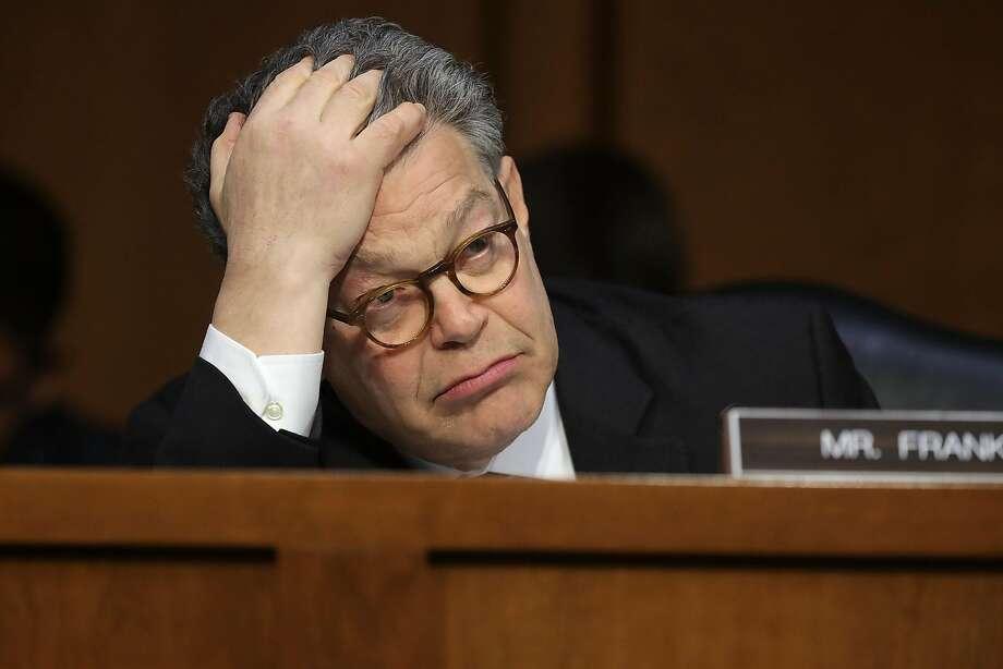 Sen. Al Franken Photo: Chip Somodevilla, Getty Images