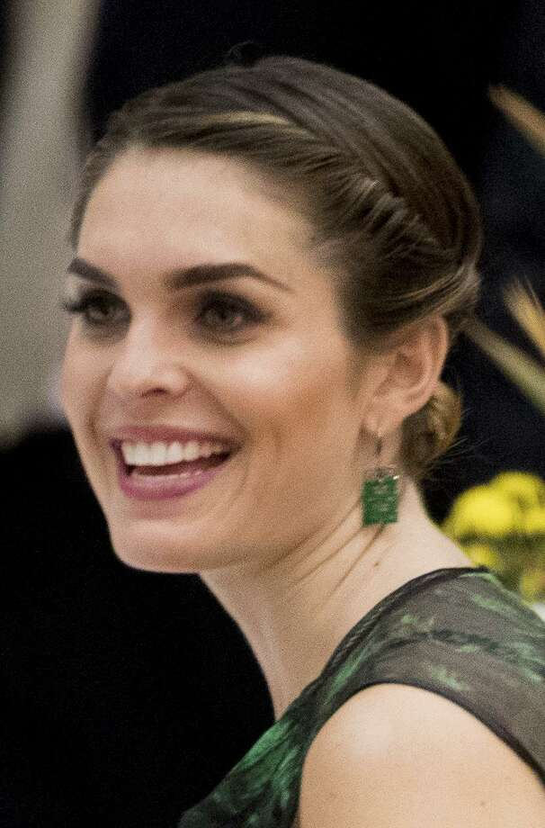 President Donald Trump's White House Communications Director Hope Hicks, Saturday, Nov. 11, 2017, in Hanoi, Vietnam. Photo: Andrew Harnik / Associated Press / Copyright 2017 The Associated Press. All rights reserved.