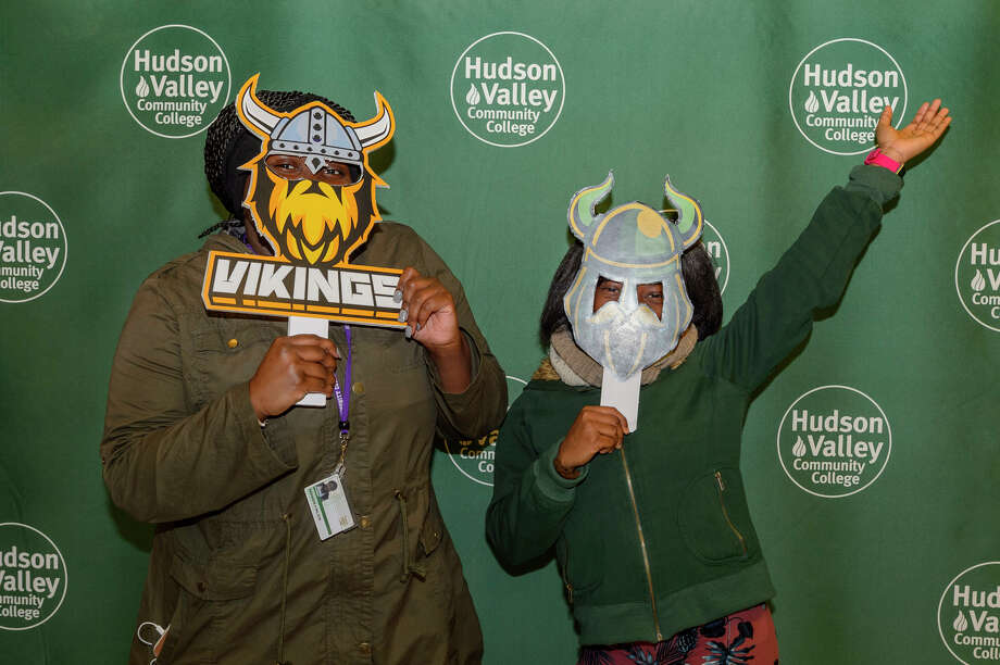 Were you Seen at Hudson Valley Community College's Spirit Day at the Siek Campus Center in Troy on Dec. 6, 2017? Photo: Vincent Giordano For HVCC
