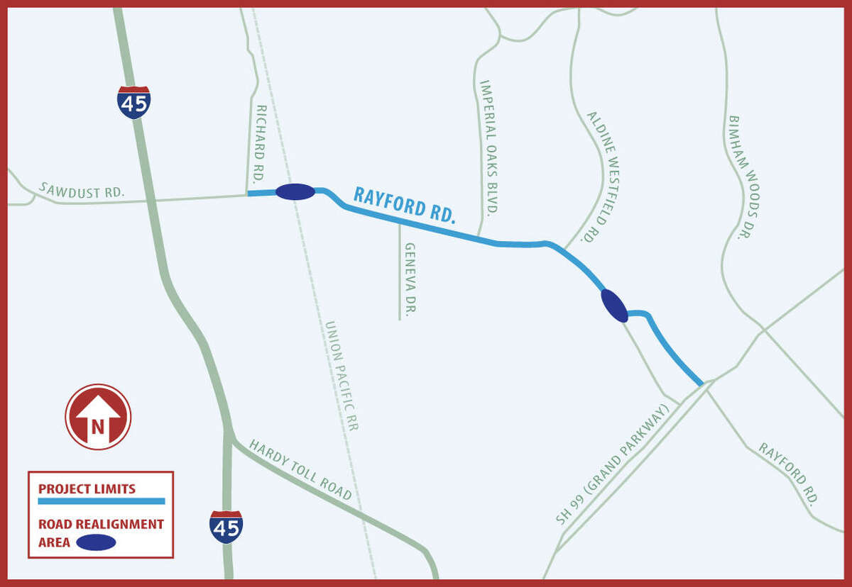 Montgomery County Rayford Road project