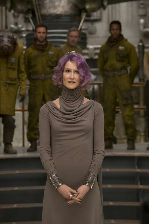 "Laura Dern is Vice Admiral Holdo in ""Star Wars: The Last Jedi."" Photo: LucasFilm"