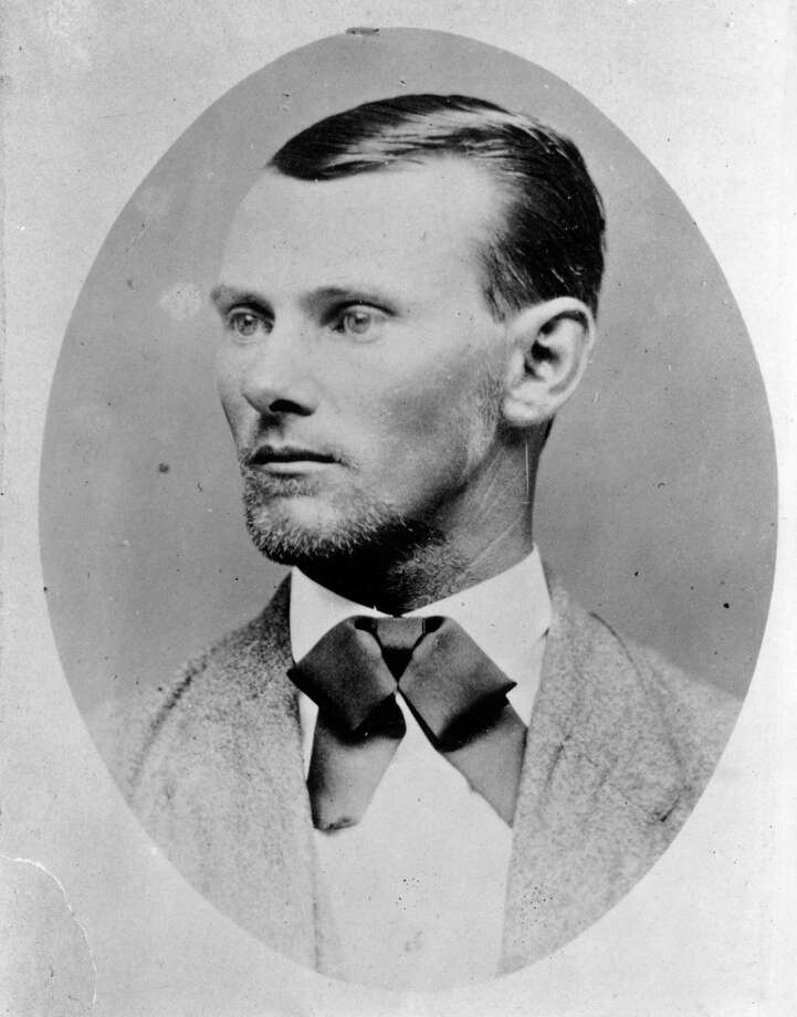 American outlaw Jesse James (1847 - 1882), was a member of Quantrill's Raiders, a gang of pro-confederate irregulars in his native Missouri who robbed banks and trains throughout the mid-west. Photo: MPI / Getty Images / This content is subject to copyright.