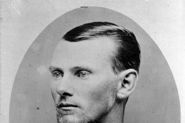 American outlaw Jesse James (1847 - 1882), was a member of Quantrill's Raiders, a gang of pro-confederate irregulars in his native Missouri who robbed banks and trains throughout the mid-west.