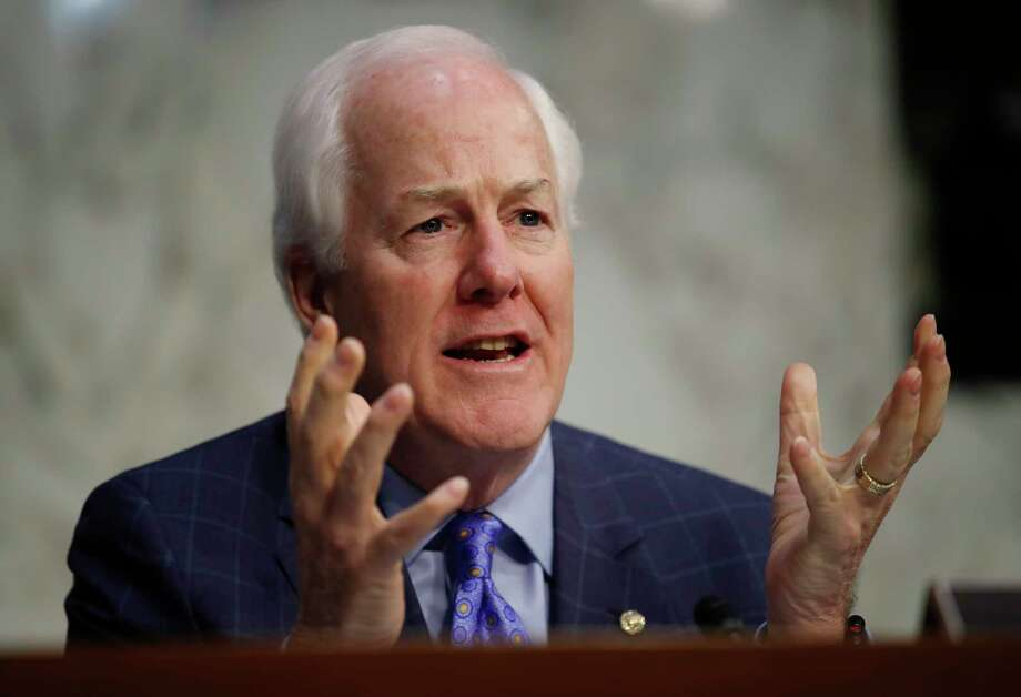 Senate Majority Whip John Cornyn, R-Texas, speaks during a Senate Judiciary Committee hearing on Capitol Hill in Washington, Wednesday, Dec. 6, 2017. (AP Photo/Carolyn Kaster) Photo: Carolyn Kaster, STF / Copyright 2017 The Associated Press. All rights reserved.