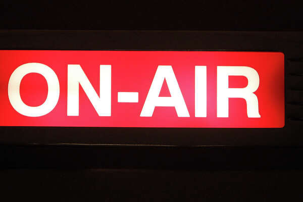 FOR SALIFE - The ON-AIR sign is lit during the Super Soul Saturday radio show Saturday Feb. 27, 2009 at the KRTU studio on the Trinity University campus. (PHOTO BY EDWARD A. ORNELAS/eaornelas@express-news.net)