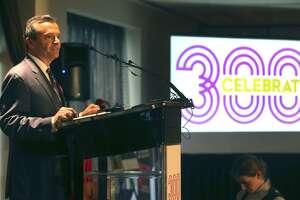 "Carlos Contreras III, seen on Dec. 6, said San Antonio's New Year's Eve festival will take place ""rain or shine."""