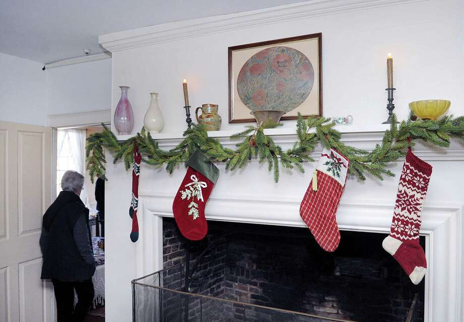 Make sure the tree is at least three feet away from any heat source, like fireplaces, radiators, candles, heat vents or lights. Photo: Bob Luckey Jr. / Hearst Connecticut Media / Greenwich Time