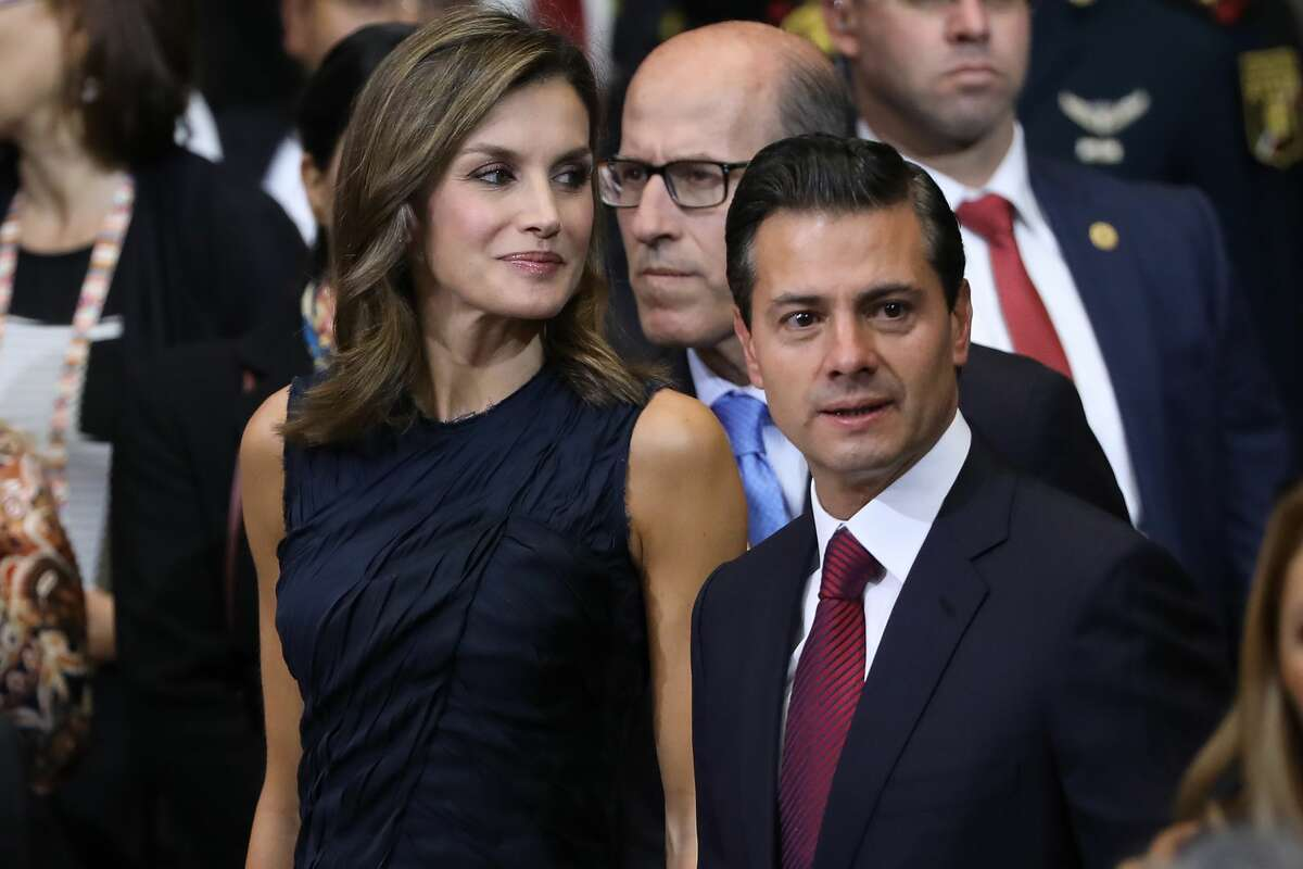 Enrique Peña Nieto, 51 - President of Mexico He declared that