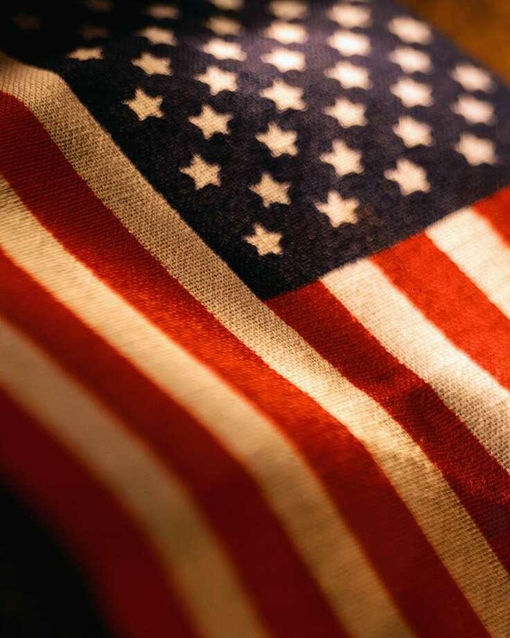 American Flag Photo: Corbis / © Royalty-Free/CORBIS