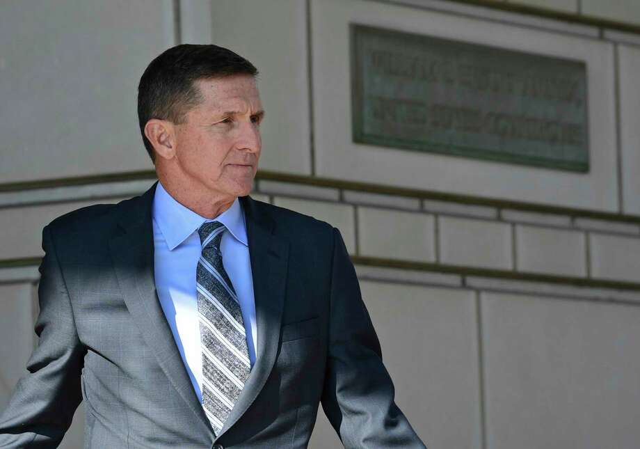 A whistleblower's account of texts sent by  Michael Flynn raises new concerns about the extent to which he may have blurred his private and public interests while at the White House. Photo: Susan Walsh, STF / Copyright 2017 The Associated Press. All rights reserved.
