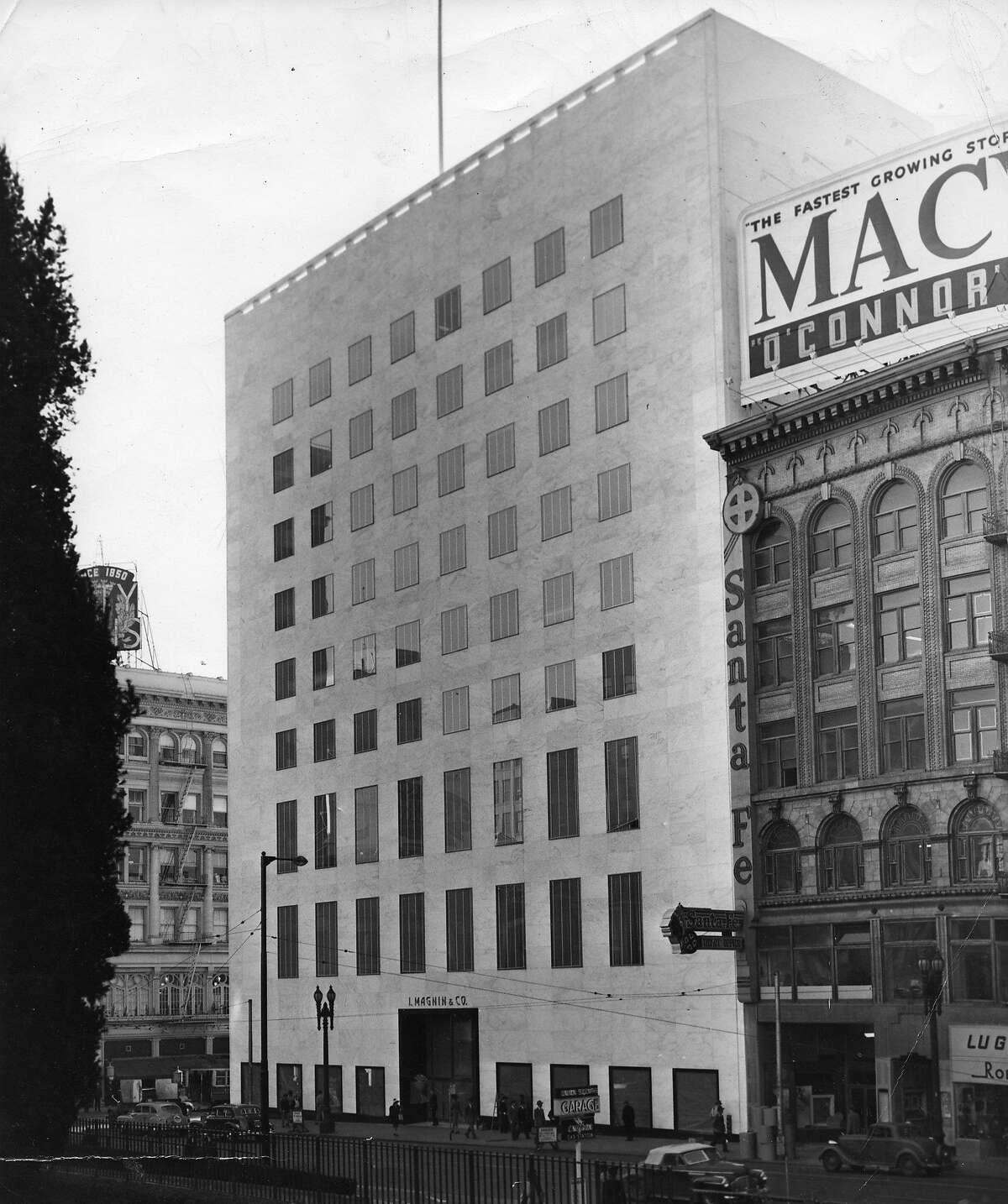 I. Magnin & Co. on Union Square, January 14, 1948
