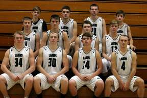 p.p1 {margin: 0.0px 0.0px 0.0px 0.0px; font: 18.0px Helvetica} span.s1 {font-kerning: none}    Members of the EPBP boys varsity basketball team are (front row from left) Brady Smith, Brady Renn, Nick Sigfried, and Brennan Wissner (middle row) Troy Chappel, Mason Pasek, James Dubs and Andrew Sigfried (back row) Travis Frtiz, Cory Maneti, Karson Binder and Samuel Gasta. Missing is coach Eric Wissner.