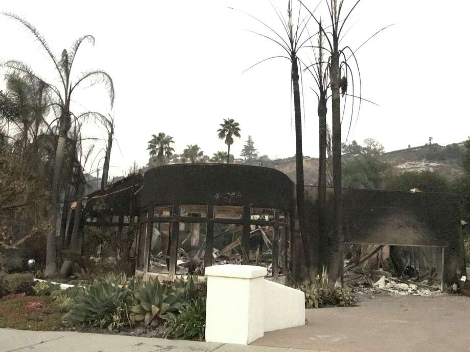 The Olson family home in Ventura was supposed to be able to withstand flames, but the Thomas Fire destroyed it. Photo: Lizzie Johnson, The Chronicle