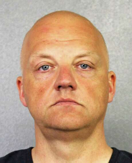 FILE - This January 2017 file photo provided by the Broward County Sheriff's Office shows German Volkswagen executive Oliver Schmidt. Prosecutors are seeking a seven-year prison sentence for Schmidt, a Volkswagen senior manager who pleaded guilty in the automaker's U.S. diesel emissions scandal. Schmidt will be sentenced Wednesday, Nov. 6, 2017 in Detroit federal court. (Broward County Sheriff's Office via AP, File) Photo: HOGP / Broward County Sheriff's Office