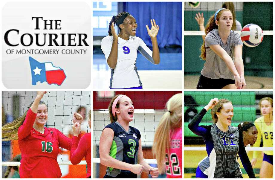 Willis' De'Janae Gilmore, TWCA's Macie Draudt, The Woodlands' AJ Koele, College Park's Lauren Freeman and Montgomery's Mallory Talbert are The Courier's nominees for Offensive MVP.