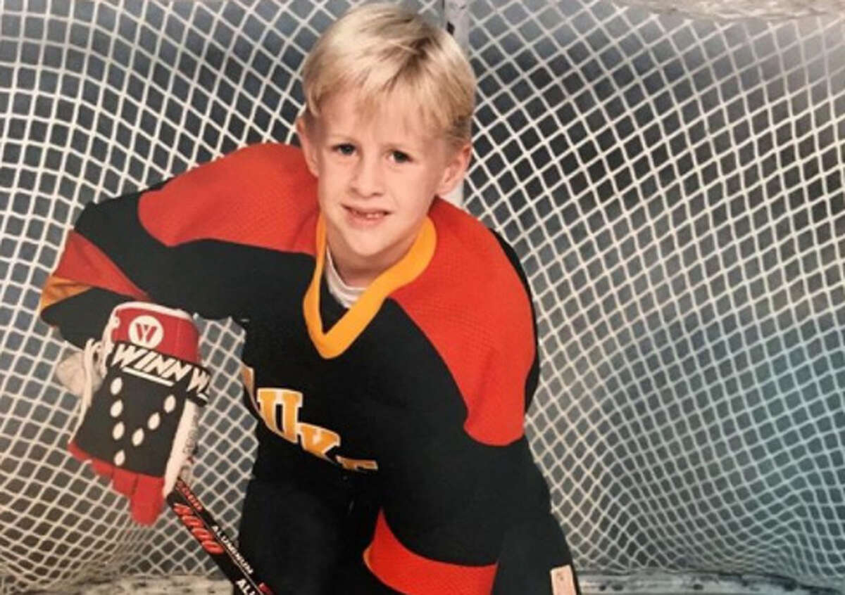 PHOTOS: Can you guess each Texans player just by looking at a photo from their childhood? This is an easy one. This hockey-playing stud grew up to be football-playing stud J.J. Watt. Browse through the photos above to guess who each Texans player is by looking at a photo from their childhood.