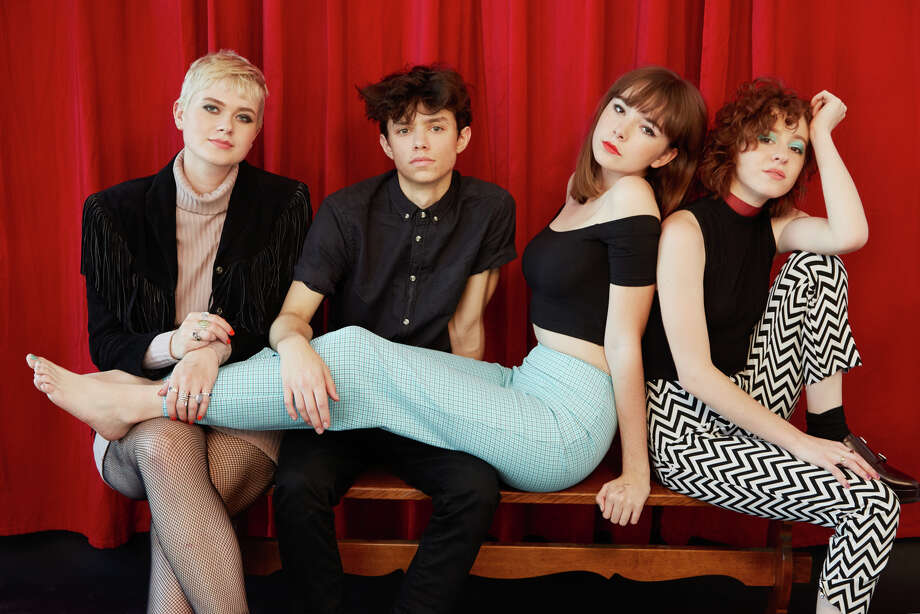 The Regrettes rocked The Low Beat in Albany Wednesday night.