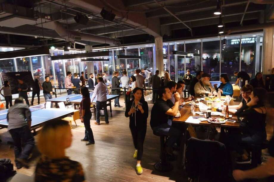 Ping Pong at SPiNIf you're hankering for a little table tennis with your craft brew, well, here you go. Part owned by Oscar winner Susan Sarandon, the setting is stylish and the eats get good reviews. Some on Yelp are not too thrilled at the $79 per hour cost for a ping pong table. Address: 690 Folsom Street, San Francisco