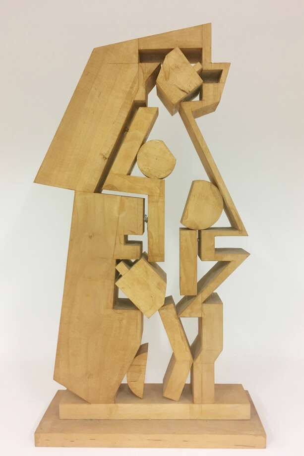 One of the pieces on display in the All Shapes and Sizes: Ernest Trova's Legacy at Laumeier Sculpture Park that is on display at Lambert Airport. Photo: For The Edge